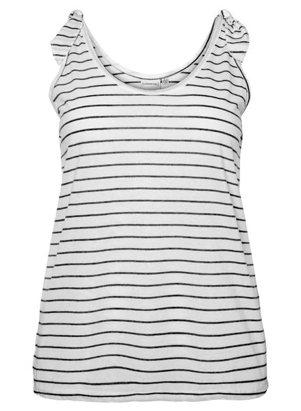 Junarose maci tank top stripes