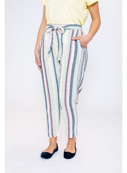 October pantalon lino streep