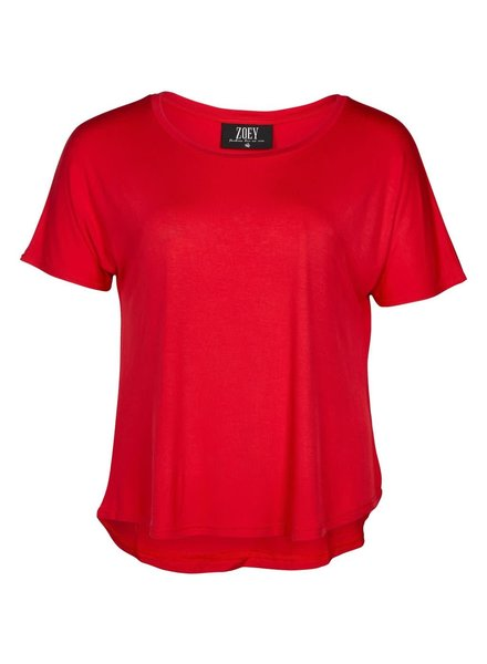 Zoey Shirt Envy red