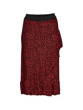 Zoey skirt leo red