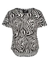 Zoey Tshirt zebra