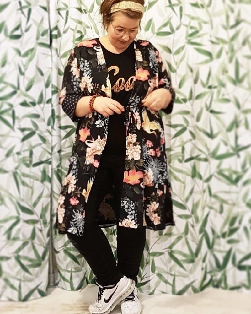 kimono zoey