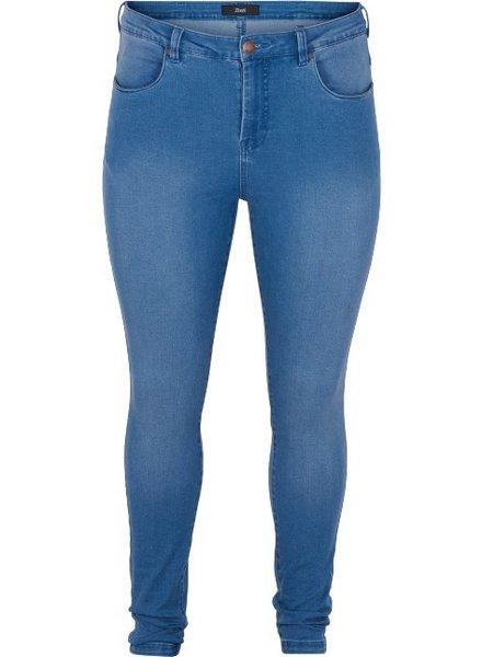 Zizzi jeans Amy lt blue denim