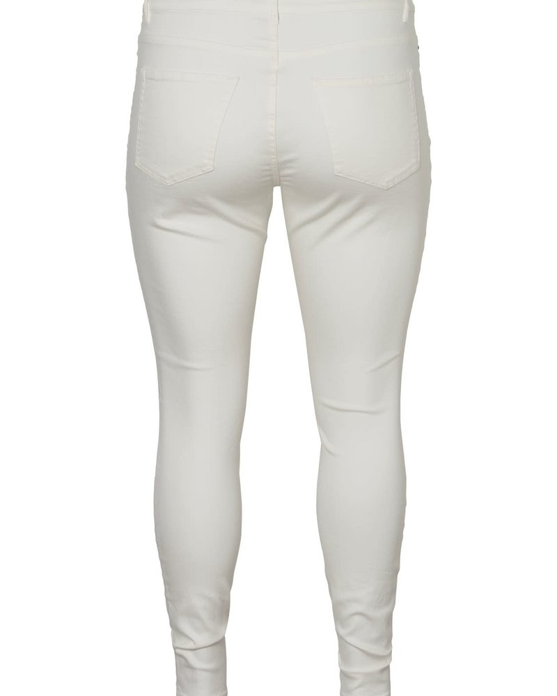 Junarose extra slim jeans queen molly white