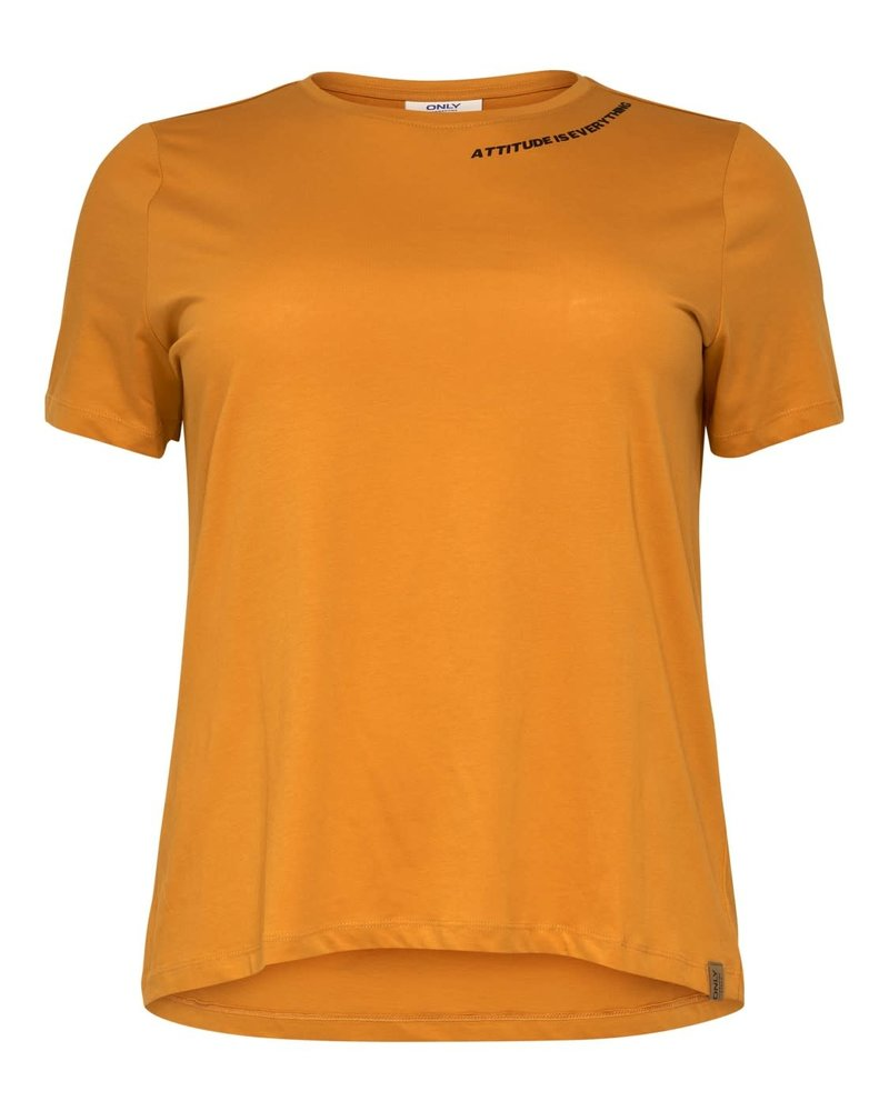 Only Carmakoma Daggie tshirt attitude