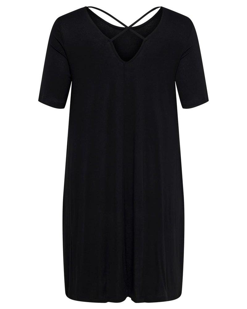Only Carmakoma dress Bandana black