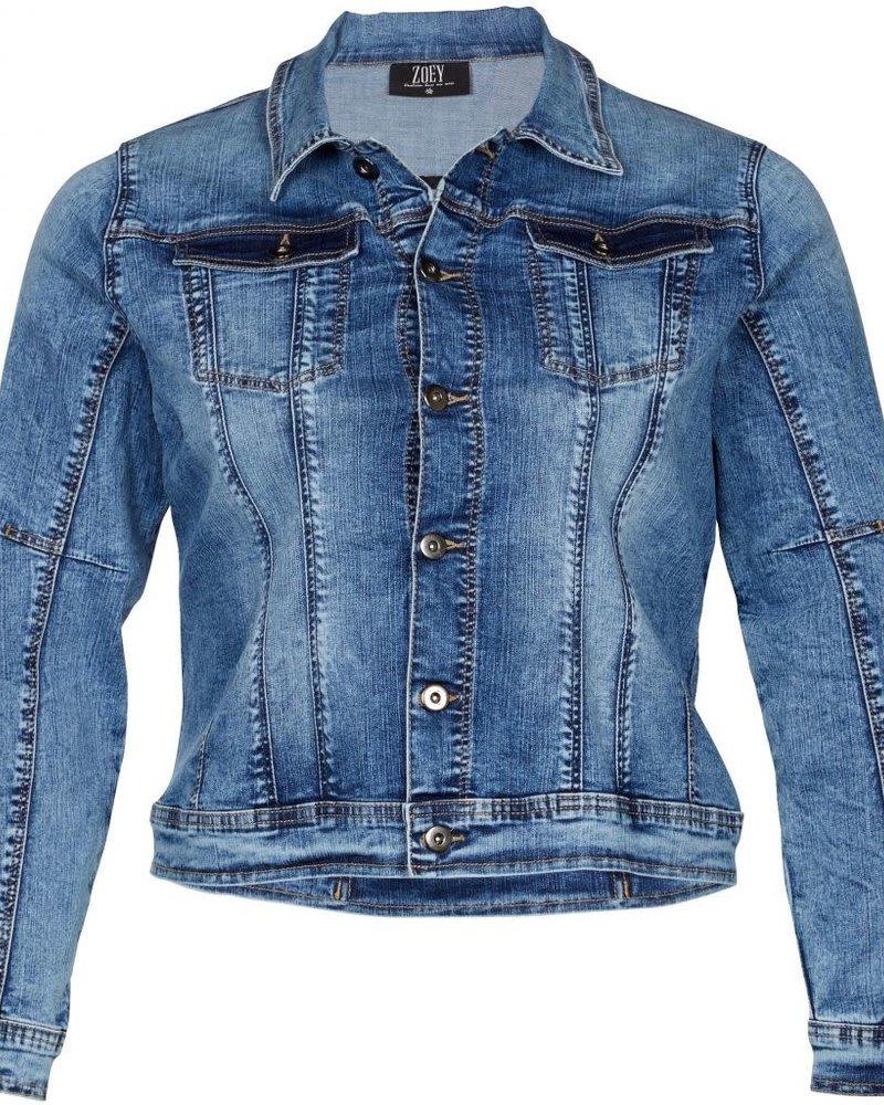 Zoey denim jacket Fia