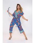 October jumpsuit/culotte print