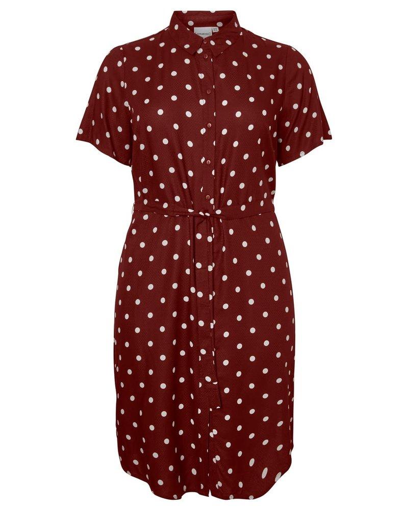 Junarose dress Tracy madder brown