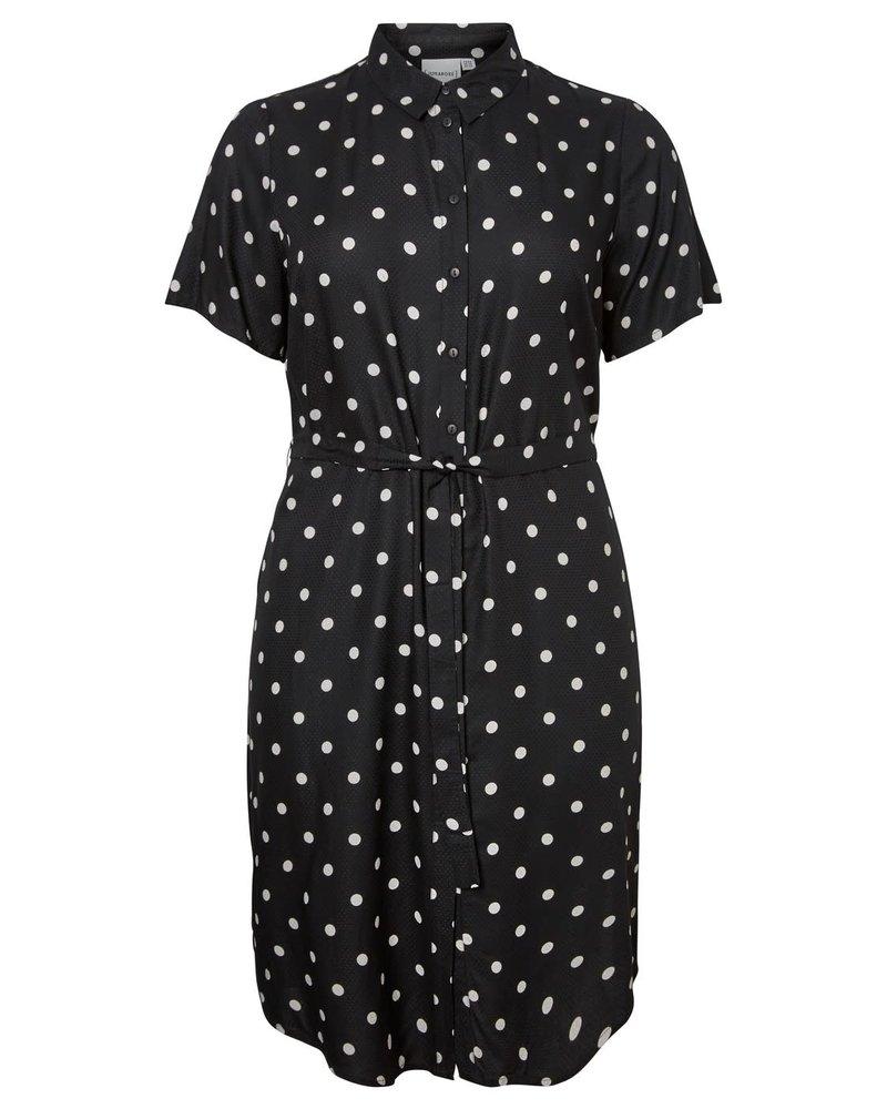 Junarose dress Tracy zwart