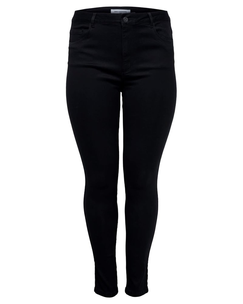 Only Carmakoma Augusta HW jeans black