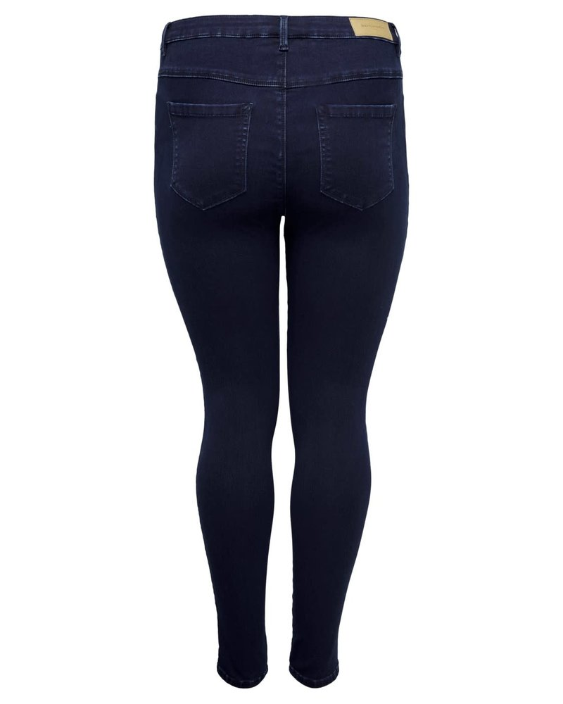 Only Carmakoma Augusta HW skinny jeans blue