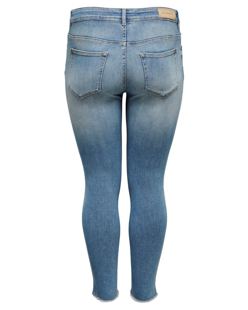 Only Carmakoma skinny ankle jeans Willy