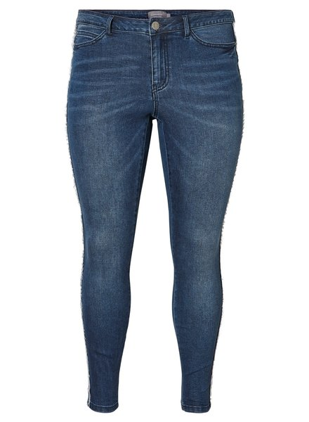 Junarose Five ankle slim jeans fringes
