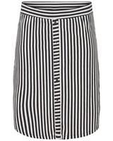 Junarose maci below knee streep skirt