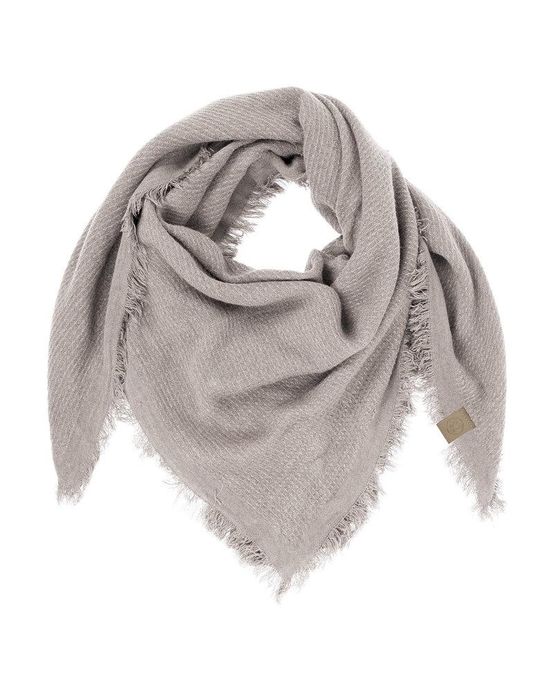 Zusss zachte vierkante sjaal gewafeld aw19 Zusss