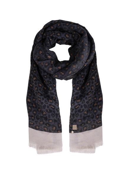 Zusss fijne sjaal met leopard print
