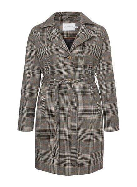 Junarose checkered coat Kolon