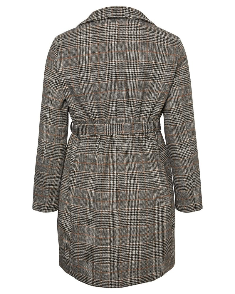 Junarose by Vero Moda checkered coat Kolon