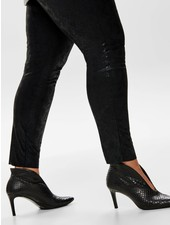 Only Carmakoma snake legging faux suede Maddie