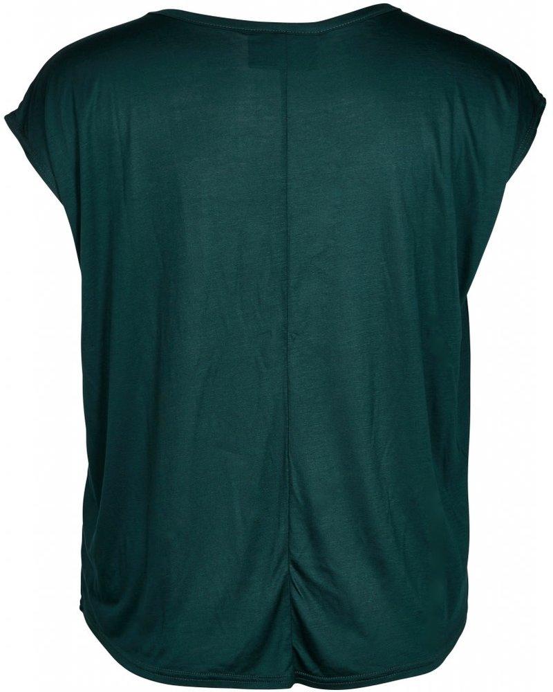 Zoey ariana shirt bottle green