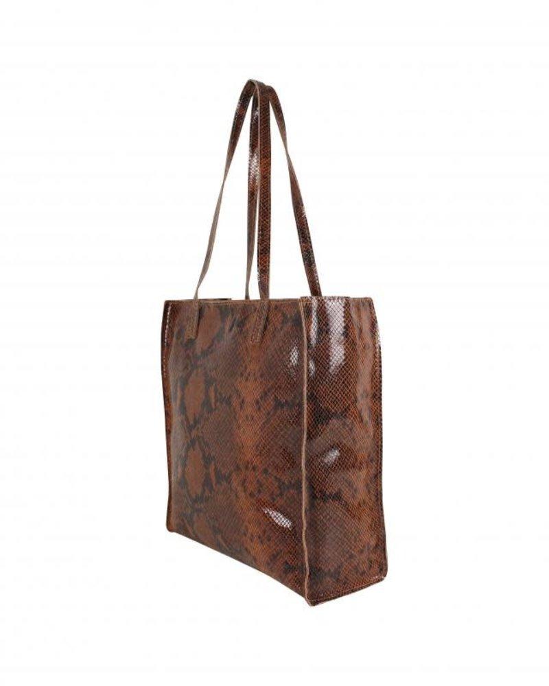 paper bag snake cognac