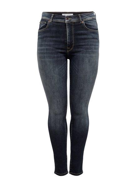 Only Carmakoma Shape up jeans Maya dark blue