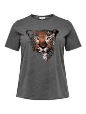 Only Carmakoma shirt Tiger