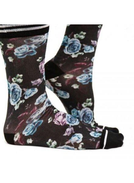 Sock My Feet sock my dark flowers 39/42
