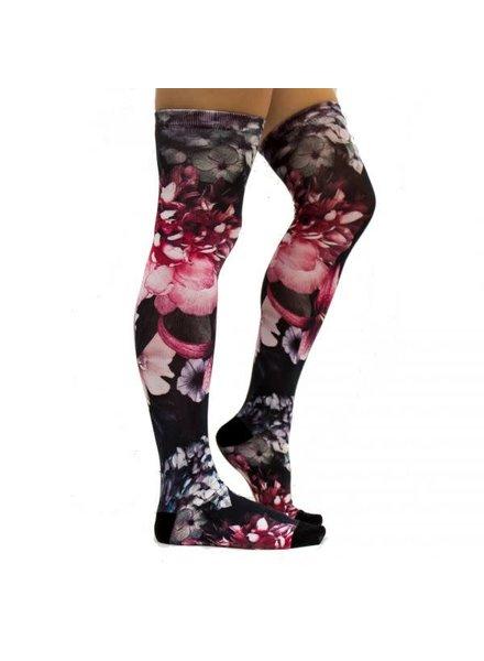 Sock My Feet sock my winterflowers kniekous 39/42