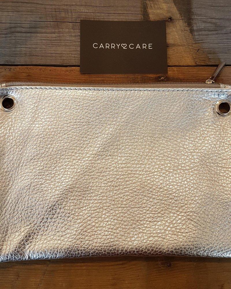 Carry2Care bag rood metallic/golden mocca