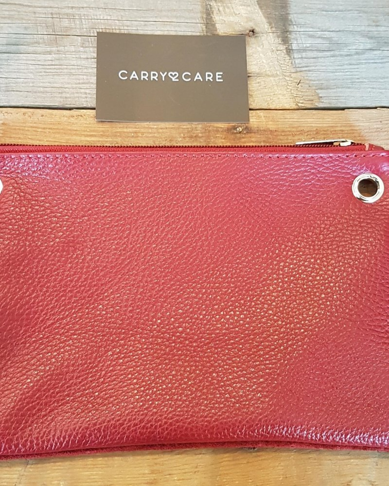 Carry2Care bag donker rood/rood