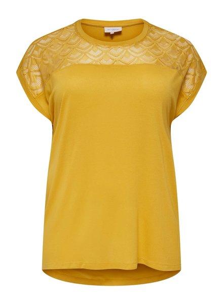 Only Carmakoma shirt flake york yellow
