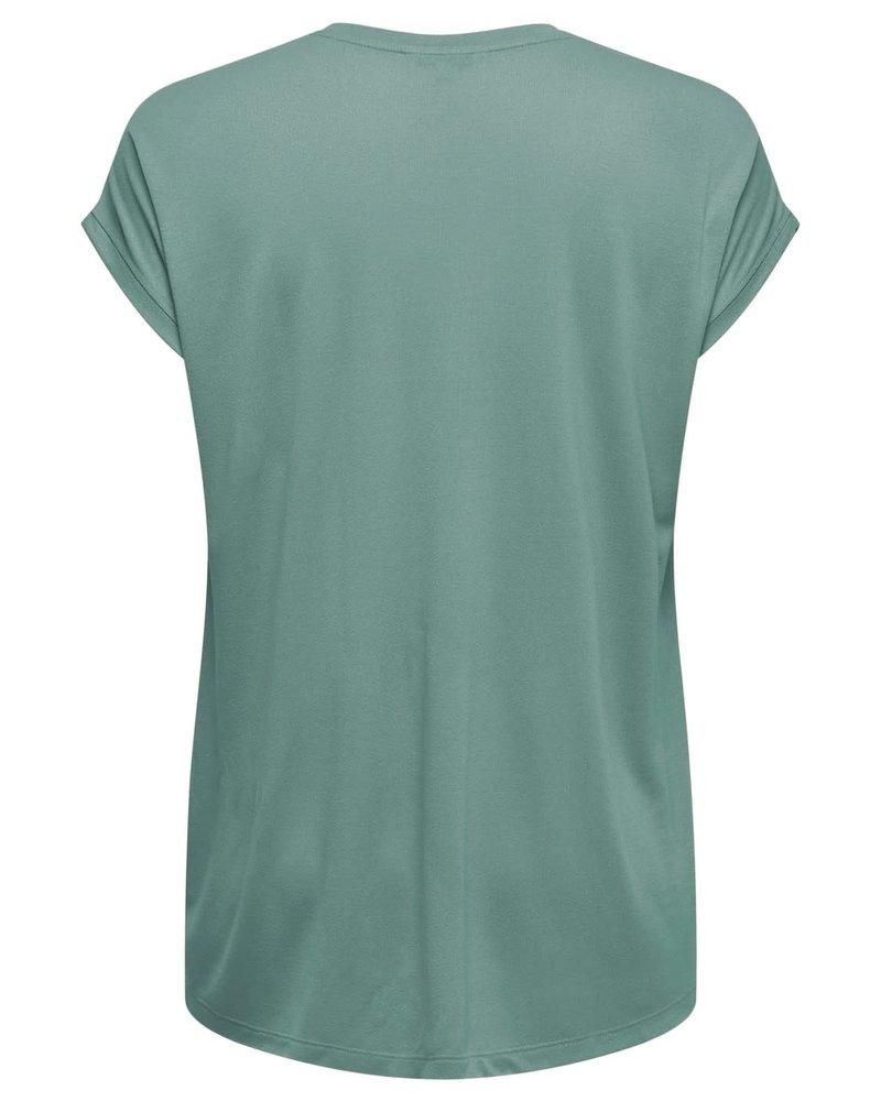 Only Carmakoma shirt Flake chinois green