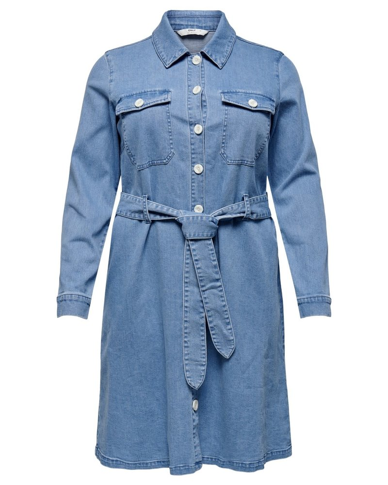 Only Carmakoma denim dress Donim