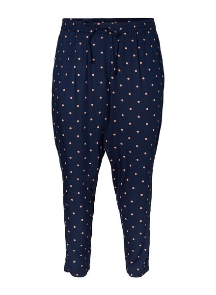 Junarose by Vero Moda pants Maika navy dots