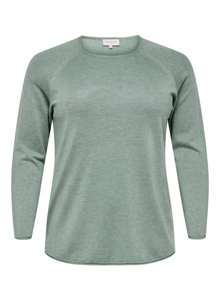 Only Carmakoma Pullover Lady chinois green
