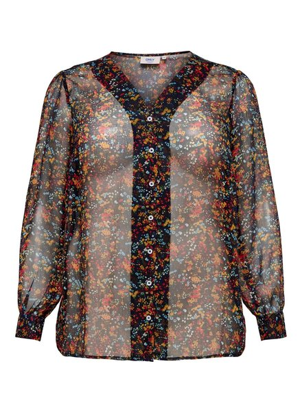 Only Carmakoma Blouse multiflower