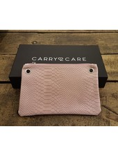 Carry2Care bag rose dust / silver craquele
