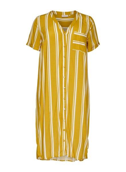 Only Carmakoma shirt dress Denizia stripe