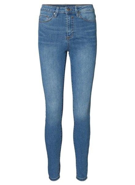 Vero Moda Curve high waist skinny jeans