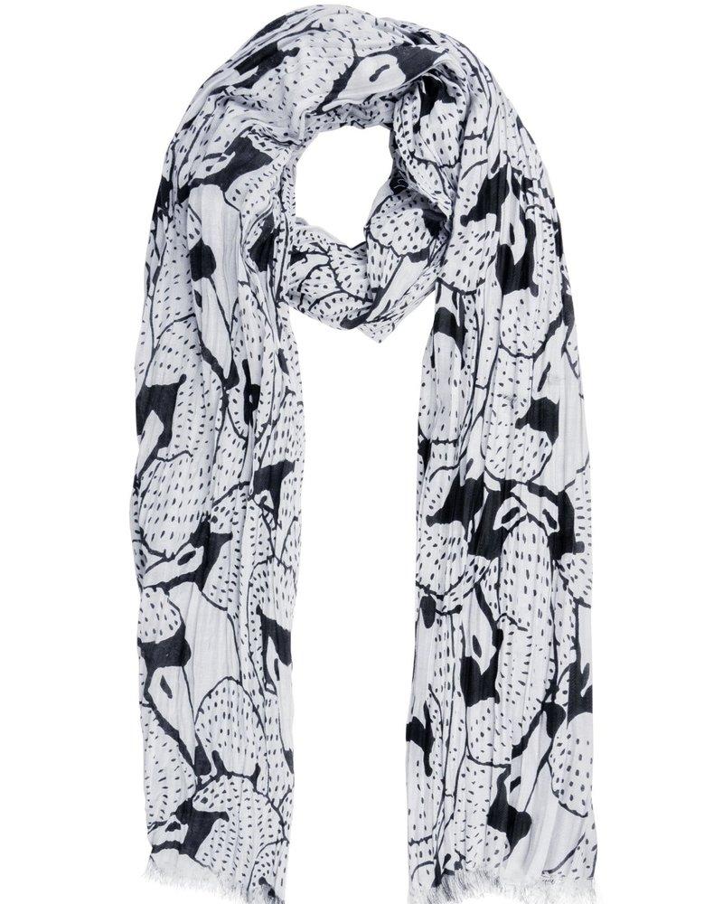Zusss sjaal zwanen kunst