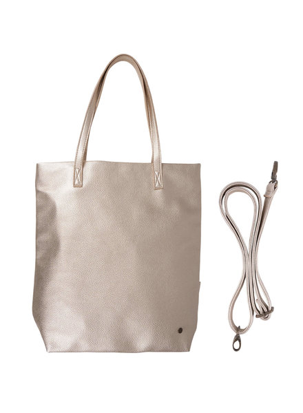 basic shopper goud metallic