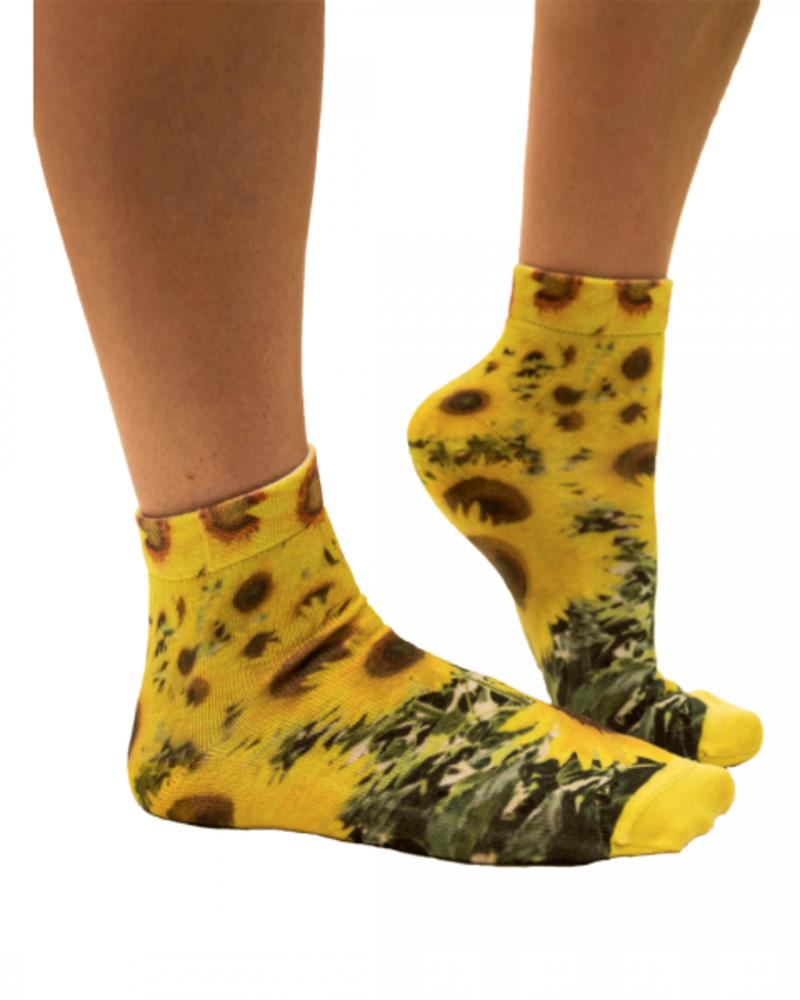 Sock My Feet sock my sunflower