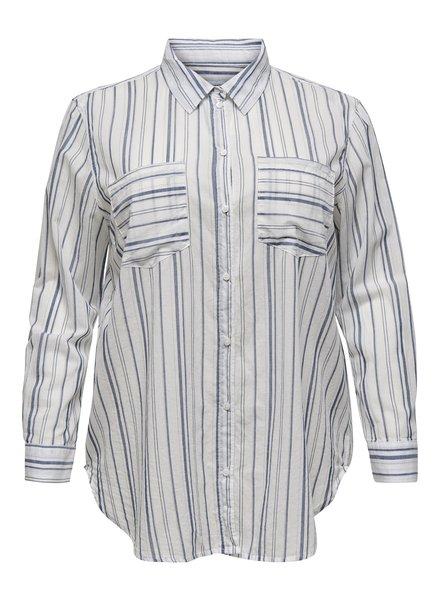 Only Carmakoma blouse Halla stripe