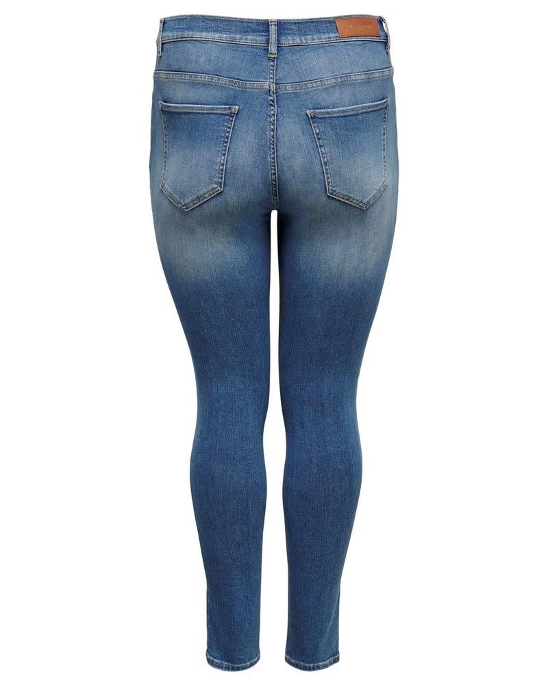 Only Carmakoma Shape up skinny jeans Maya light blue