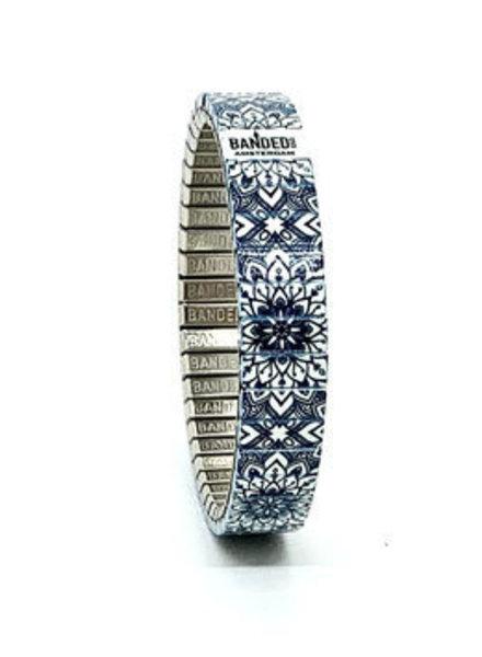 Banded Banded slim 10 mm La Flor Azul