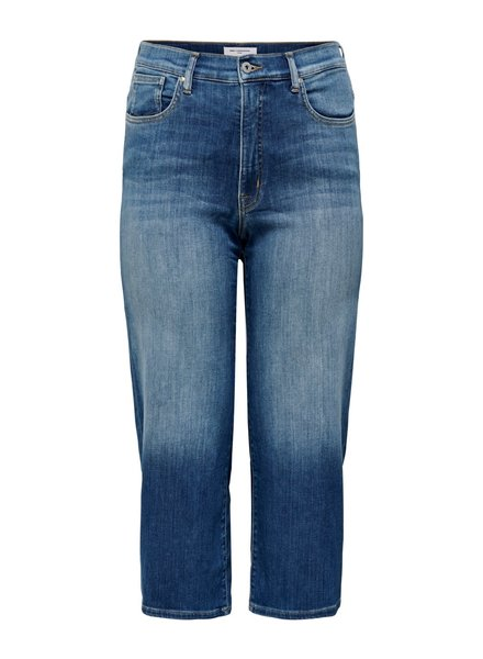 Only Carmakoma Wide cropped jeans Adison