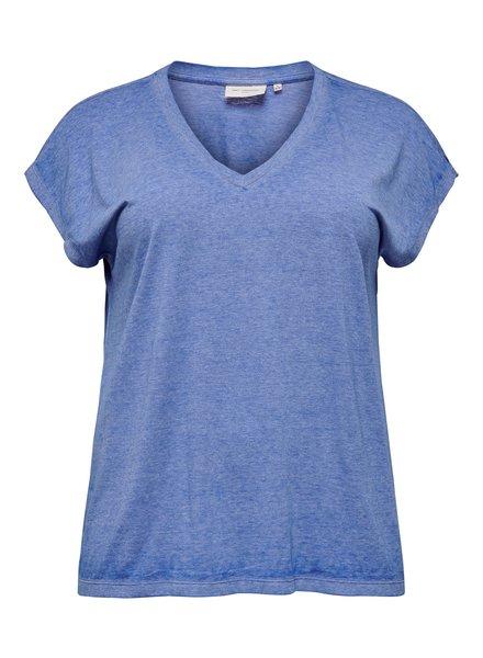Only Carmakoma tshirt Noizy victoria blue