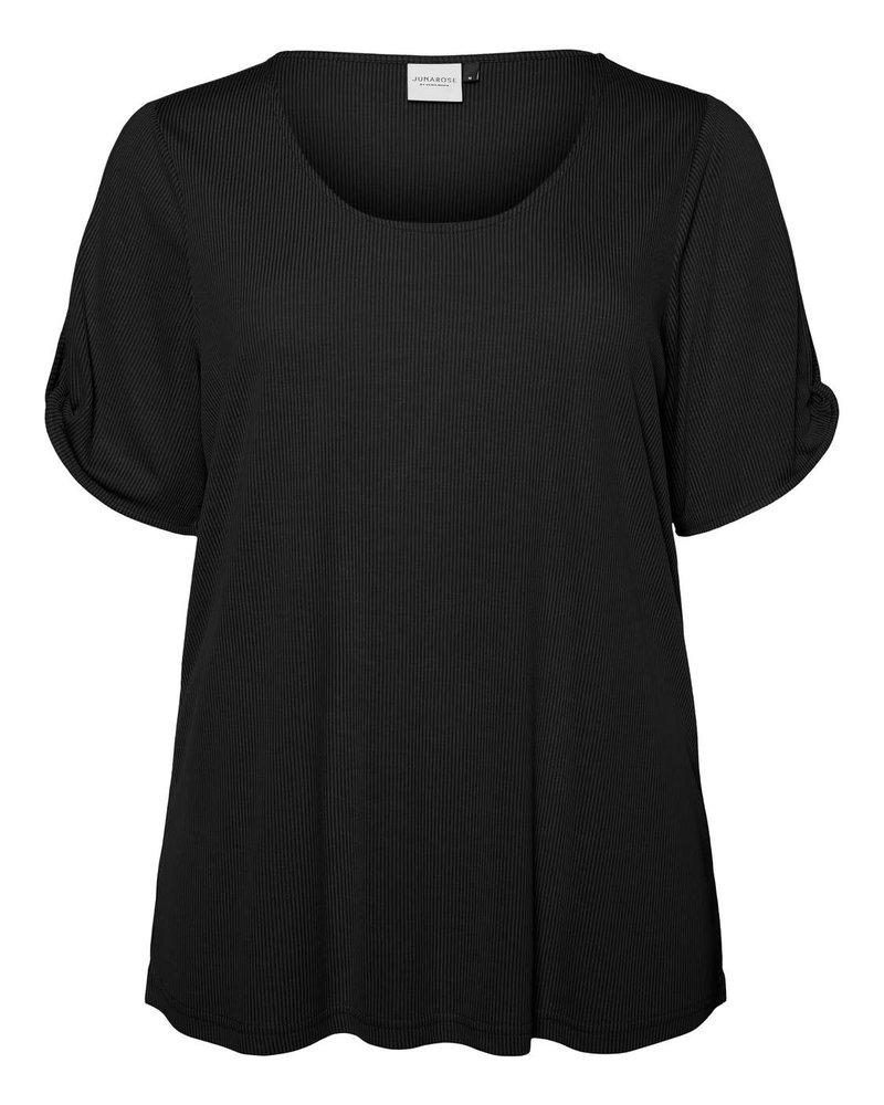 Junarose by Vero Moda shirt Maysin black